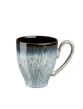Denby   Glazed 'halo' Rimmed Large Mug by Denby