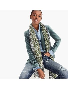 Printed Mid Season Scarf by J.Crew