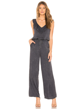 Ruffle Sleeve Jumpsuit by Chaser