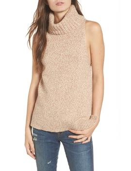 Marled Sleeveless Turtleneck Sweater by Madewell