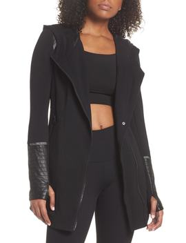 Traveller Mesh Inset Jacket by Blanc Noir