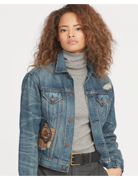 Patchwork Denim Jacket by Ralph Lauren