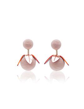 Tulip Drop Earrings by Rebecca De Ravenel