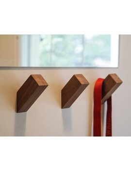 Wallnuts® | Modern Wall Hooks Handmade From Beautiful Hardwoods. by Etsy