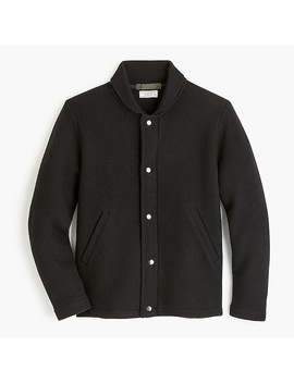Wallace & Barnes Felted Merino Wool Deck Jacket by J.Crew