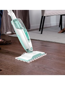 Shark Steam Mop Hard Floor Cleaner For Cleaning And Sanitizing With Xl Removable Water Tank And 18 Foot Power Cord (S1000 A) by Shark Ninja