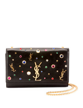 Kate Monogram Ysl Medium Jewel Stud Chain Shoulder Bag by Saint Laurent