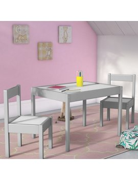 Viv + Rae Ramona 3 Piece Rectangular Table And Chair Set & Reviews by Viv + Rae