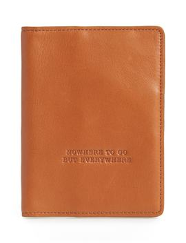 Quest Calfskin Leather Passport Wallet by Hobo