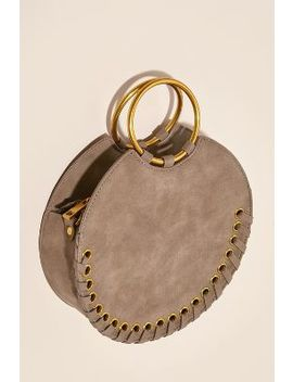 Shelly Round Whipstiched Bag by Anthropologie