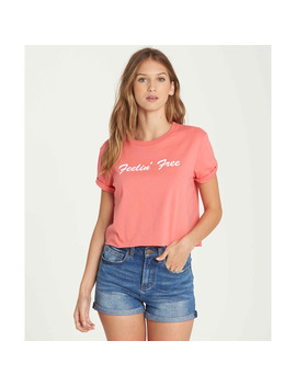 Feelin' Free Crop Tee by Billabong