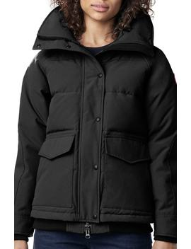 Deep Cove Arctic Tech Water Resistant 625 Fill Power Down Bomber Jacket by Canada Goose