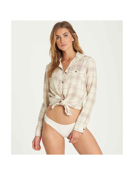 Venture Out Plaid Top by Billabong