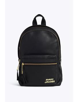Trek Pack Leather Medium Backpack by Marc Jacobs