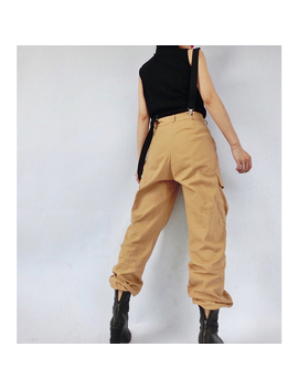 Porte High Waist Strap Pants by Jessica Buurman