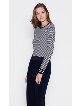 Virginia Rib Stripe Sweater by Equipment