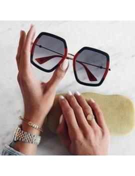 Roaso Fashion Polygonal Sunglasses by Roaso