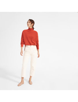 The Cashmere Waffle Square Turtleneck by Everlane