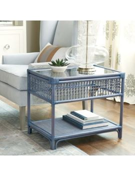 Beverly Rattan Side Table by Ballard Designs