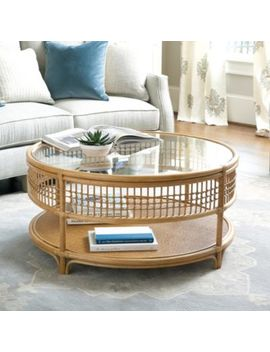 Beverly Rattan Coffee Table by Ballard Designs
