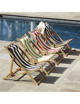 Classic Beach Folding Chair by Ballard Designs
