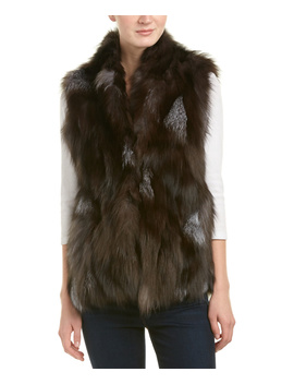Adrienne Landau High Neck Vest by Adrienne Landau