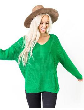 Julie Chunky Knit Sweater by Cents Of Style