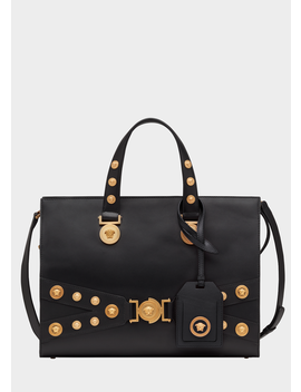 Tribute Tote Bag by Versace
