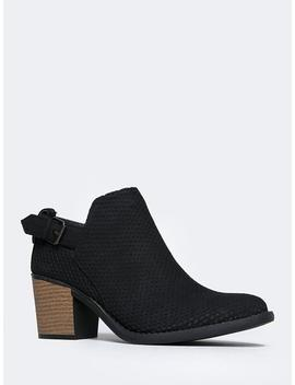 Theo Western Bootie by Zooshoo