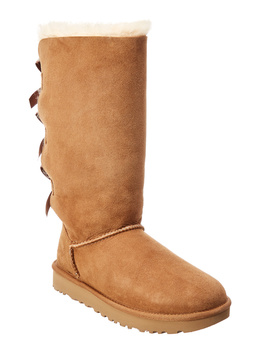 Ugg Bailey Bow Tall Ii Water Resistant Suede Boot by Ugg