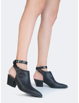 Woven Ankle Booties by Zooshoo