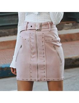Ally Skirt   Pink by Want My Look