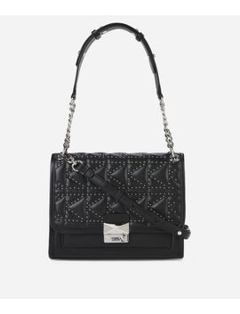 K/Kuilted Studs Handbag by Karl Legerfeld