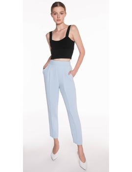 Soft Twill Crepe Pant by Cue