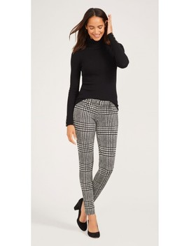 Becca Leggings In Kent Houndstooth by J.Mc Laughlin