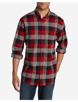 Men's Eddie's Favorite Flannel Relaxed Fit Shirt   Plaid by Eddie Bauer