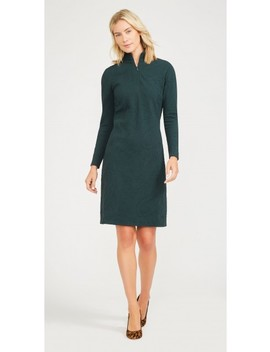 Bedford Dress In Market Paisley Jacquard by J.Mc Laughlin