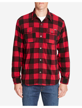 Men's Chutes Microfleece Shirt by Eddie Bauer
