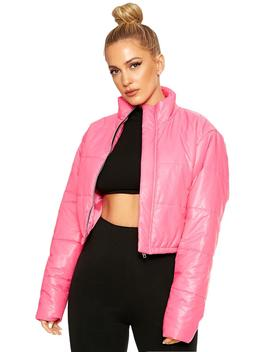 Puff No Daddy Cropped Jacket by Naked Wardrobe