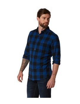 Basic Flannel Shirt   Modern Fit by Wind River