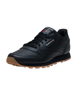 Classic Leather Gum Sneaker by Reebok