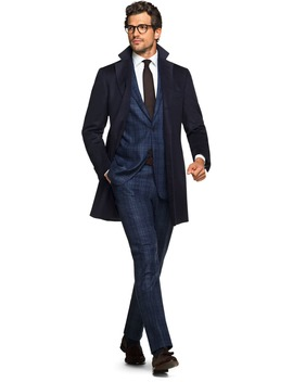 Navy Overcoat by Suitsupply