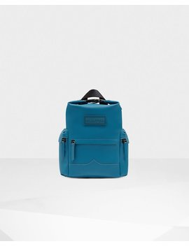 """<Span Itemprop=""""Name"""">Original Mini Top Clip Backpack   Rubberized Leather</Span>:                     <Span>Ocean Blue</Span> by Hunter"""