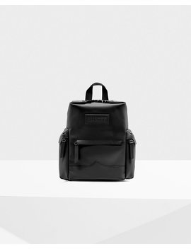 "<Span Itemprop=""Name"">Original Mini Top Clip Backpack   Rubberized Leather</Span>:                     <Span>Black</Span> by Hunter"