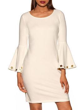 Beyond Travel™ Grommet Flare Dress by Boston Proper
