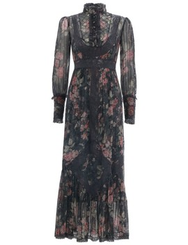 Unbridled Tucked Midi Dress by Zimmermann