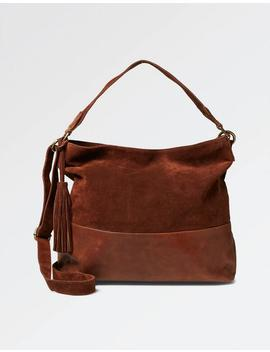 Harriet Leather Hobo Bag by Fat Face
