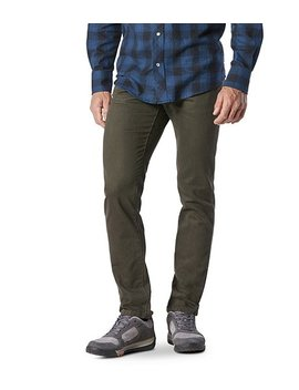 Athletic Fit Stretch Hd1 Water Repellant Jeans Olive by Wind River