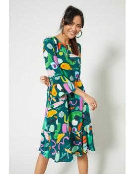 Holiday Silk Dress by Gorman