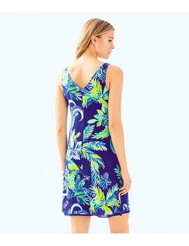 Florin Reversible Sleeveless V Neck Dress by Lilly Pulitzer